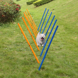 Outdoor Training Poles Sets Of 12 Fence