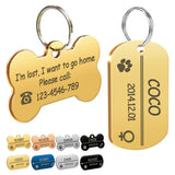 Personalized Dog Id Tag Name Tags
