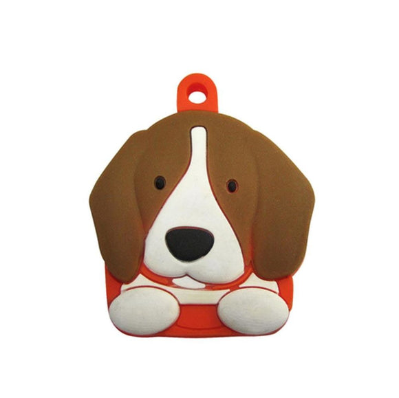 Pet-Themed Rubber Key Cover/ Chain Ring Cover