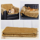 Premium Flannel Dog Blanket Bed