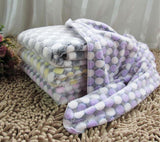 Soft Printed Fleece Dog Blanket