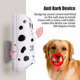 Ultrasonic Anti-Bark Device For Dogs And Puppies Uk Plug Training Behaviour