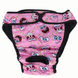 Washable Dog Diapers/menstruation Briefs Pink / S Diapers