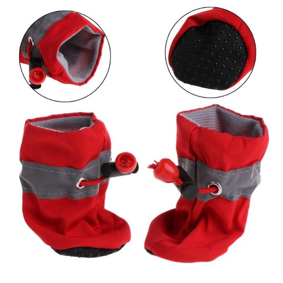 Waterproof Rubber Anti-Slip Dog Boots