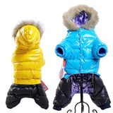 Waterproof Winter Snowsuit For Small Dogs Jackets