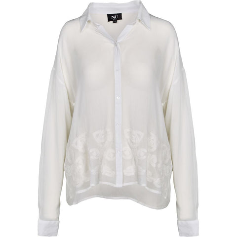 Nu Denmark Embroidered Blouse