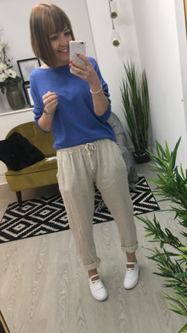 Moo Boutique Linen Trousers