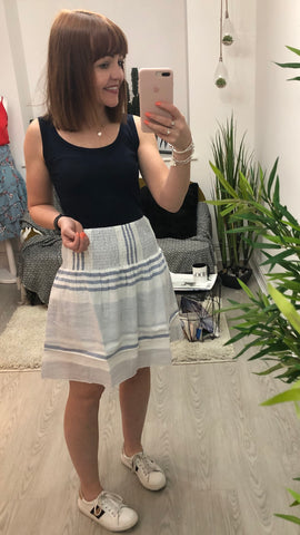 Saint Tropez Cute Striped Skirt