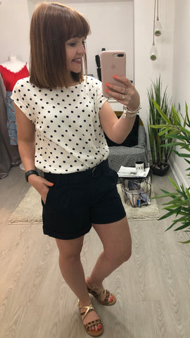 Saint Tropez Spotty Blouse