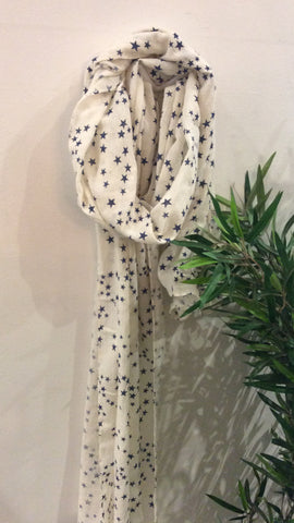 Moo Boutique Star Print Scarf