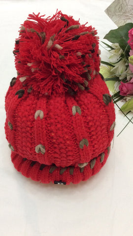 Moo Boutique Knitted Bobble Hat