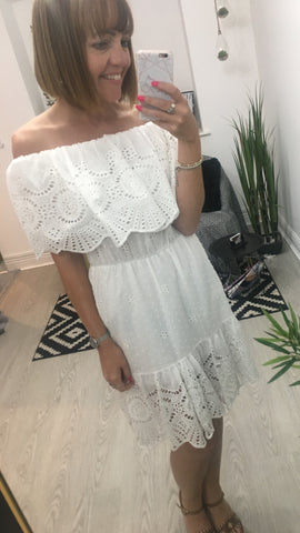 Moo Boutique Off The Shoulder Dress