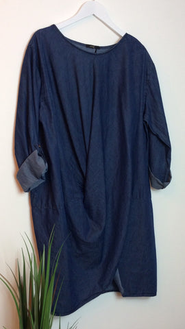 Moo Boutique Denim Tunic