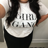 Moo Boutique Girl Gang Slogan TShirt