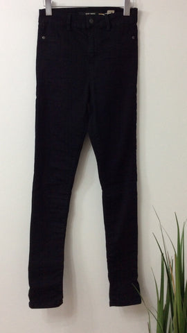 Saint Tropez Skinny Fit Black Jeans