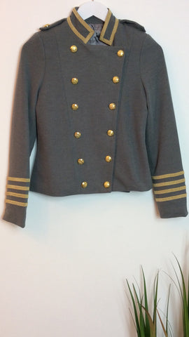 Moo Boutique Military Style Blazer