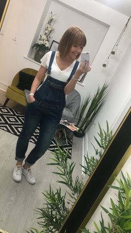 Moo Boutique Denim Dungarees