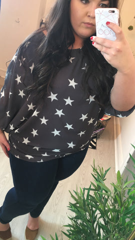 Moo Boutique Star Double Layered Tunic