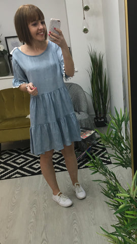Moo Boutique Denim Dress