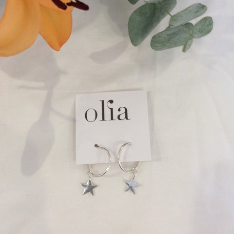 Olia Sammi Mini Star Earrings