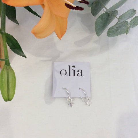 Olia Davina Star Earrings