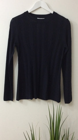 Great Plains Midnight Ribbed Top
