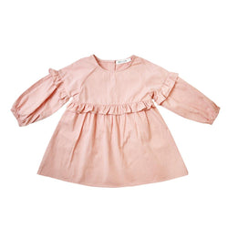 MELON Kids Girl Tunic Dress, Crepe pink