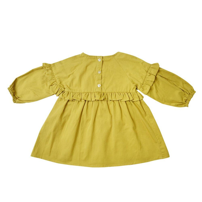 *Size 100 & 120 only* Tunic Dress, Corn