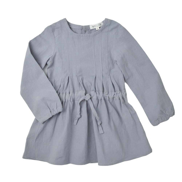 MELON Kids Girl Sheath Dress, Flint grey