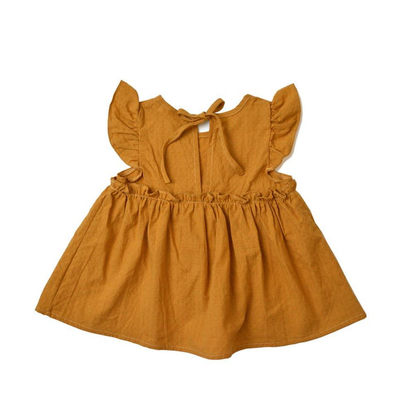 *Size 80 & 100 only* Babydoll Top, Ginger