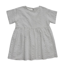 MELON Kids Cotton Smock Dress, Flint