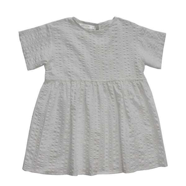 Cotton Smock Dress, Flint