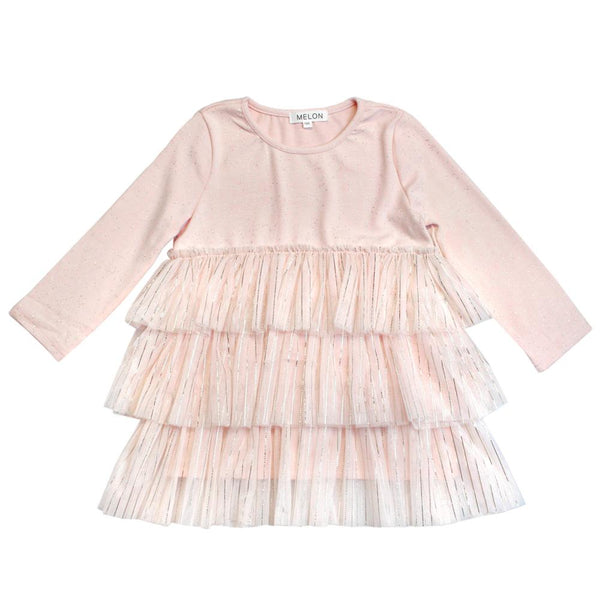 *Hot Fave* Tulle Dress, Blush