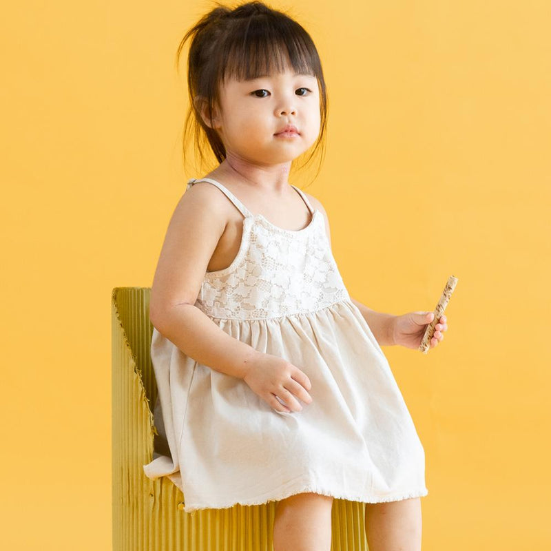 Babydoll Dress/Top, Buttermilk