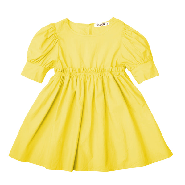 Empire Dress, Pineapple Yellow