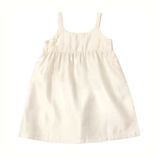 Shimmering Jumper Dress, Porcelain White