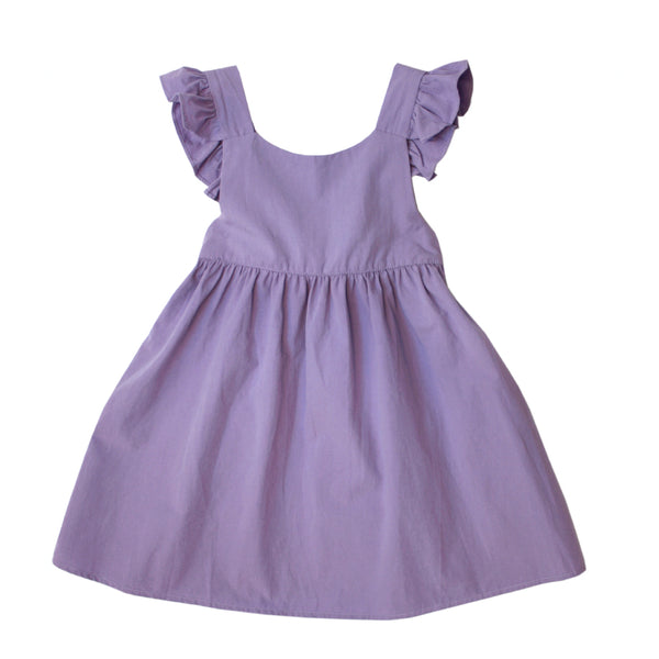 *Hot Fave* Apron Dress, Iris Purple