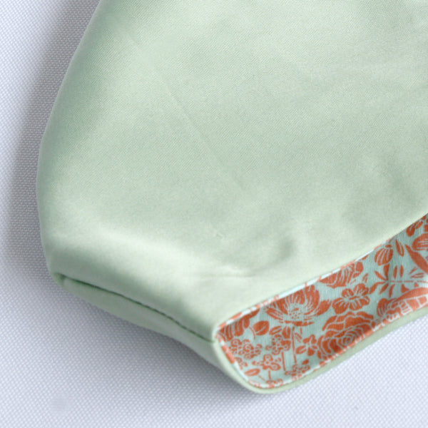 Mask-Have Reversible Satin Mask, Mint Green