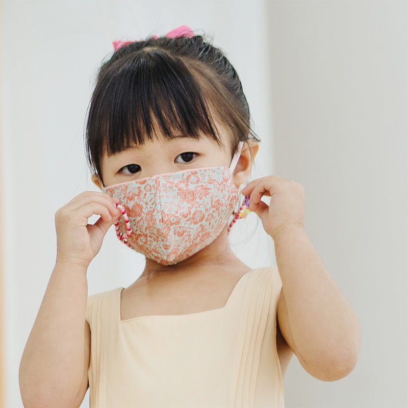 Mask-Have Reversible Bamboo Cotton Jersey Mask, Blush Pink