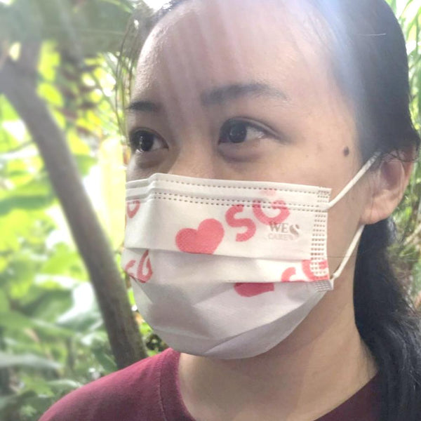 PREMIUM 3PLY FACE MASKS (ADULT) |  ❤️SG EDITION