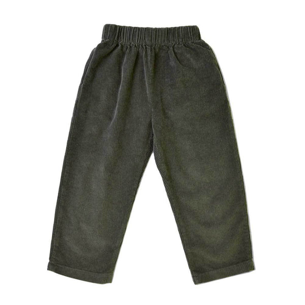 MELON Kids Corduroy Ankle Pants, Sage Green