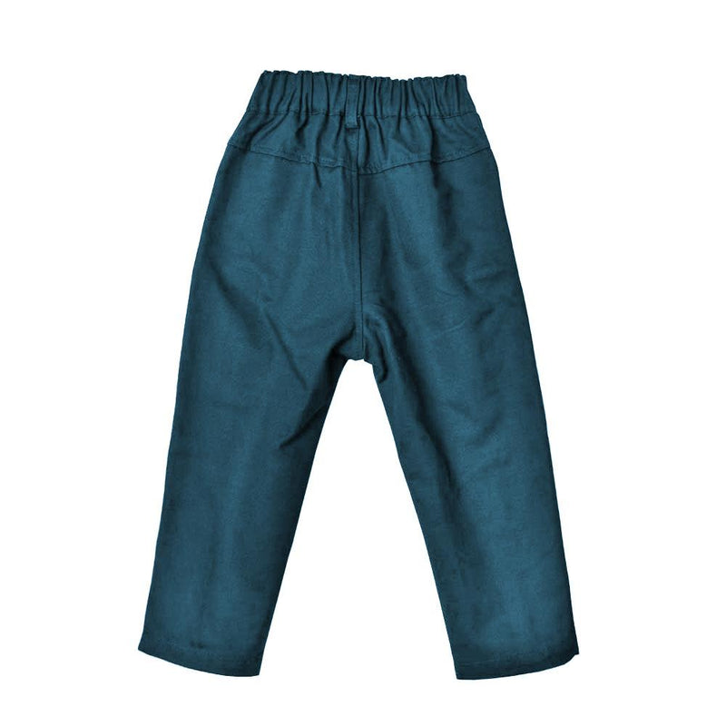 *Must-have* Slim Fit Ankle Pants, Deep Teal