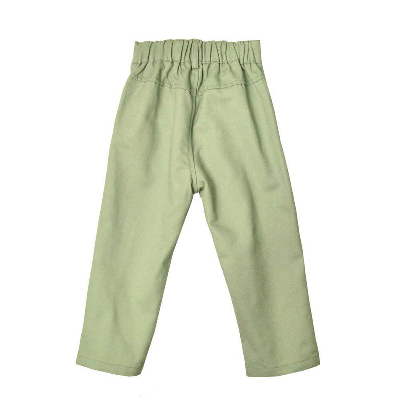 *Must-have* Slim Fit Ankle Pants, Pistachio