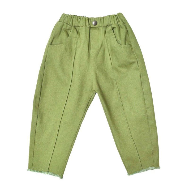 Denim Ankle Pants, Moss