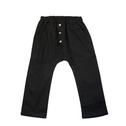 Tailored Harem Pants, Ebony