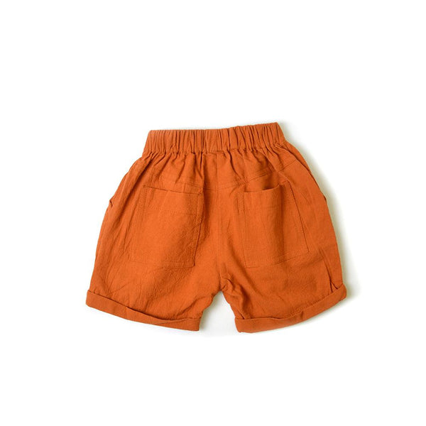 *Last Piece* Trouser Shorts, Cider