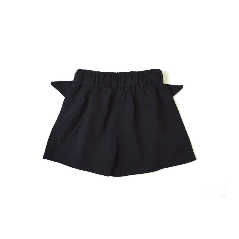 Bow Shorts, Ebony