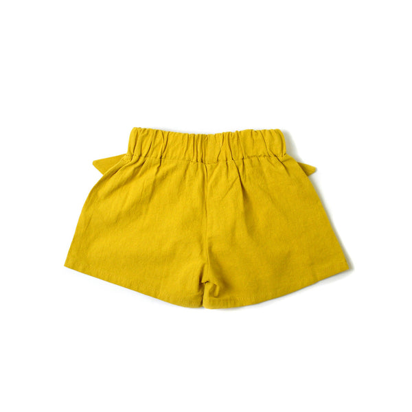 *Hot Fave* Bow Shorts, Bumblebee