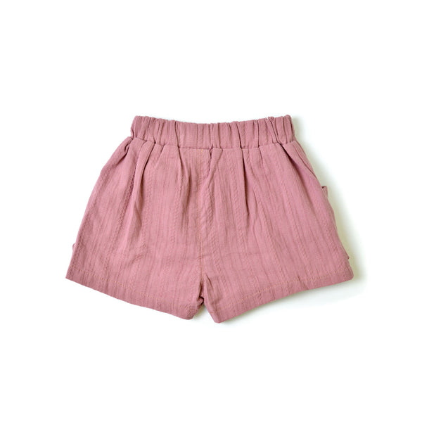 *Size 110 & 120 only* Bow Shorts, Grape