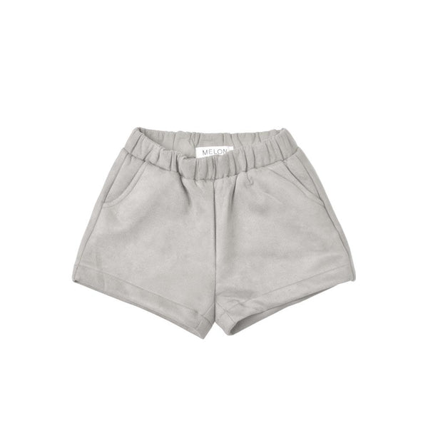 MELON Kids Girl Cotton Velvet Shorts, Coin